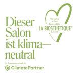 Auszeichnung als klimaneutraler Salon